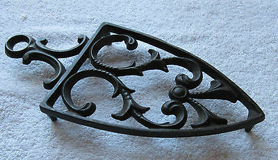 Antique Cast Iron Ironing trivet Iron stand