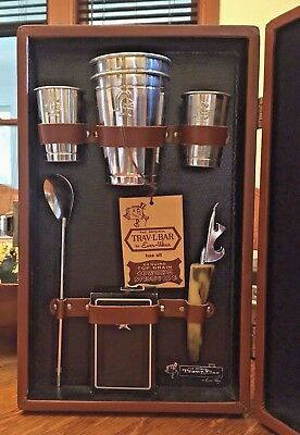 Vintage Trav-L-Bar Ever-Ware with Key 1950's Retro Mid Cent