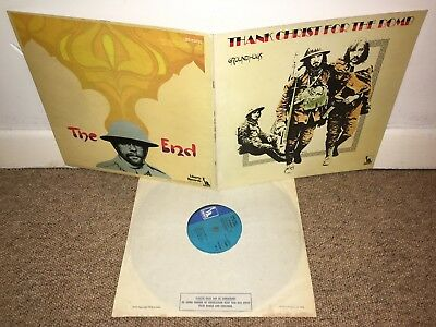 THE GROUNDHOGS Thank Christ For The Bomb LP UK 1st Press!