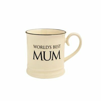 "Fairmont And Main Quips And Quotes Tazza Con Scritta ""world's Best Mum"" Colore P"
