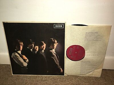 THE ROLLING STONES Selftitled LP UK 1964 1st 4:06 Press!