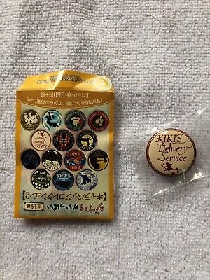 Ghibli Character Can Badge Collection 2 - Kiki's Delivery Service