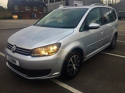 Volkswagen Touran 1.6 TDI 105 BlueMotion Tech SE 61 PLATE GREAT SPEC FULL VWSH