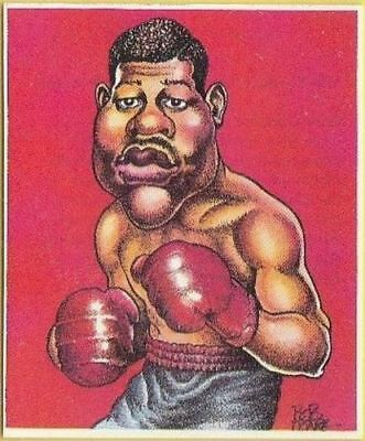 Joe Louis Boxing Card - 1993 Brindley World Boxers
