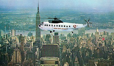 Airline Issue Postcard - Sikorsky S-61 - N618Pa ? Of New York Airways - Cr 4/79