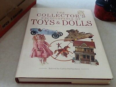 The Collectors Encyclopedia of Toys & Dolls 1990 hardcover by Lydia Darbyshire