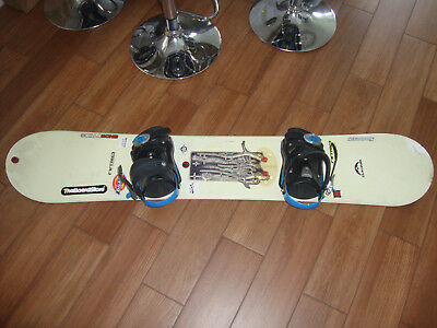Nitro Snowboard with bindings (L),151cm.Good Condition; WAXED *COLLECTION ONLY*