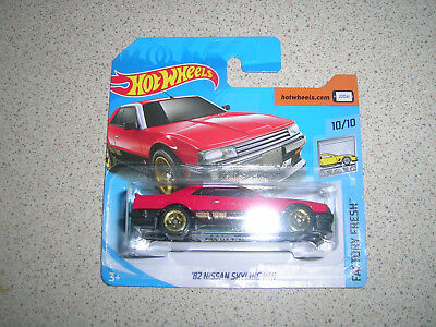 Hot Wheels Factory Fresh '82 Nissan Skyline R30 In Red And Black Rare Short Card