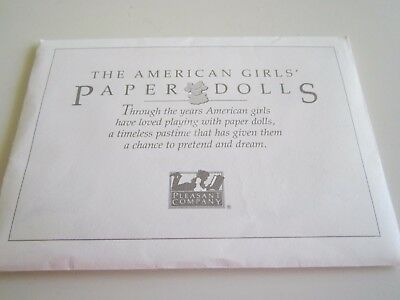 American Girl SAMANTHA Winter Amusements Paper Dolls 90's COMPLETE