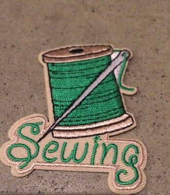 Girl Scout Sewing Fun Patch