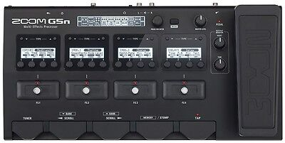 Like N E W Zoom G5n Multi-effects Processor Auth Dealer! Opened Box Never Used!