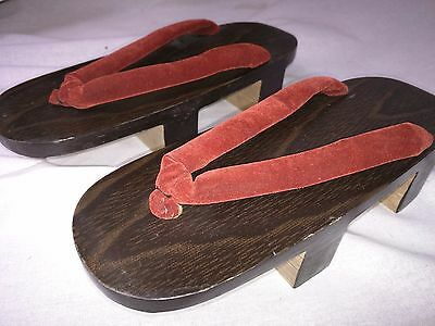 Traditional GETA Japanese Kimono shoes Zori Imported from Japan sandals geisha