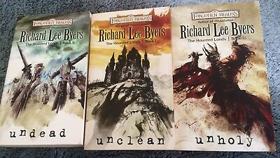Dungeons and Dragons book Lot Forgotten Realms UNHOLY + UNCLEAN + UNDEAD books !