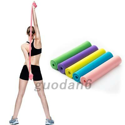 HOT Super Exercise Resistance Band Fitness Pilates Yoga Rubber Physio Strips