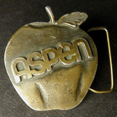Aspen Soda Pepsi-Cola vintage 1978-1982 belt buckle