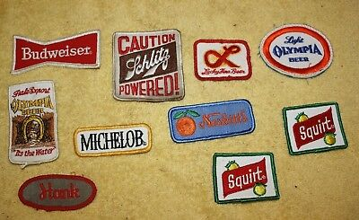 VINTAGE ORIGINAL Lot of Small BEER PATCHES