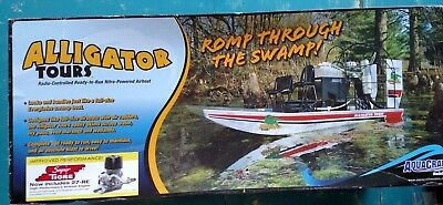 Aquacraft Models AQUB1803 Alligator Tours Airboat RTR Nitro NEW Updated Version