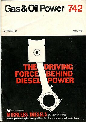 Gas & Oil Power magazine 742 April 1968