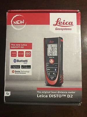 Genuine Leica DISTO D2 smallest Distance Measurer Meter distances New 2016 Model