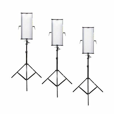 Boling 3x 2250P LED Video & Photography Continuous Portable Lighting Kit (21,100