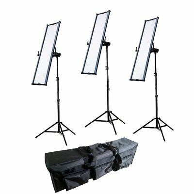 Boling 3x 2280P LED Video & Photography Continuous Portable Lighting Kit (36,000