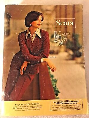 Sears Roebuck & Co. Catalog Fall & Winter 1974, Eastern Edition
