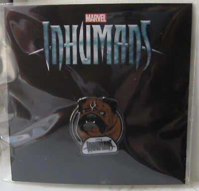Marvel Inhumans Official Abc Tv Promotional Lockjaw Pin Brand New Disney D23