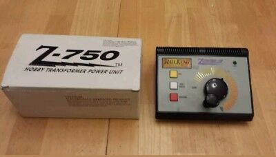 MTH Rail King Z 750 Train Transformer Zcontroller w/ Bell Horn/Whistle Direction
