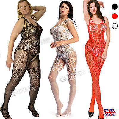 Sexy Plus+ Size 6-26 body stocking underwear nighties romantic fishnet Tights 77