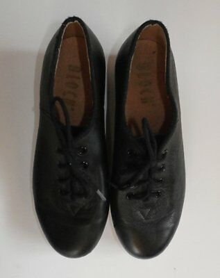 Black Leather Tap Shoes by BLOCH ~ Youth Size 4 ~ Great Condition
