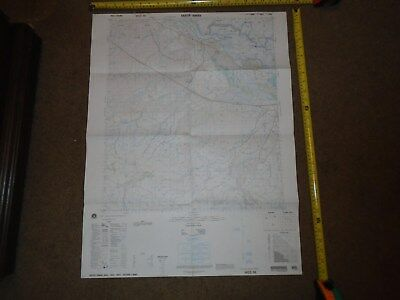 US MILITARY MAP OF IRAQ SAYYID ABBAS 1st EDITION 1997 K643 SHEET 4952 0-33