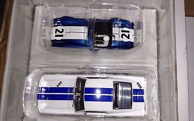 Carrera Evolution Cobra And Mustang Set NEW Unused 1/32 Slot Car Set
