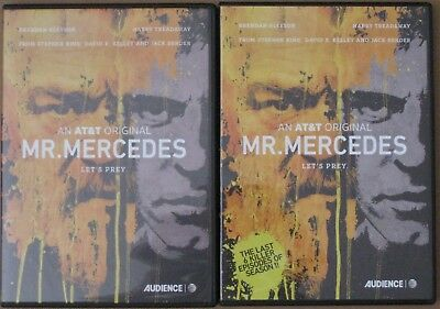 Mr. Mercedes Audience At&t 2017 Promotional Fyc Dvd All 10 Episodes Stephen King