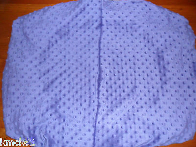 Stokke fitted nappy change cover. Grape colour dotty 72cm x 60cm
