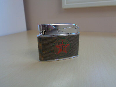 Vintage Texaco Credit Card Advertising Pocket Lighter-Hadson
