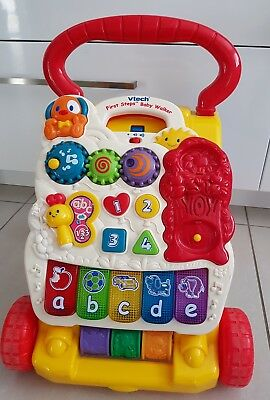 Fisher Price Activity Table & Vtech Baby Walker.