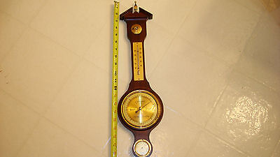 Vintage (CHANGEABLE) Made In West Germany Wall Barometer Thermometer HYGROMETER