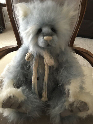 Charlie Bears HESTON 2017 Isabelle Mohair Collection FREE US SHIP