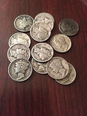 Random Year Mercury Dime $1.95 Each