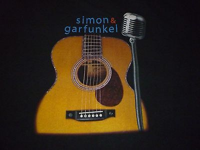 Simon & Garfunkel Tour Shirt ( Used Size L ) Very Good Condition!!!