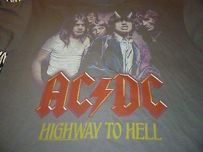 AC/DC Shirt ( Used Size XL ) NEW!!!