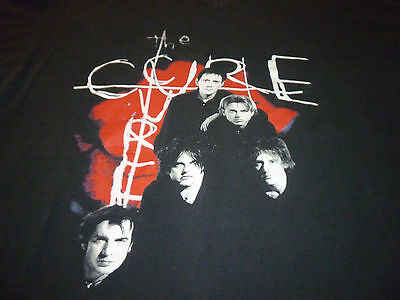 The Cure VintageTour Shirt V-Neck ( Used Size XXL ) Good Condition!!!