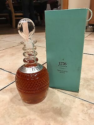 UNOPENED 1776 by Seagrams Tiffany & Co Decanter Scotch Whiskey