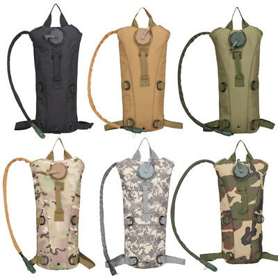 3L Outdoor Climbing Hiking Survival Water Bag Backpack Hydration Packs Camelback