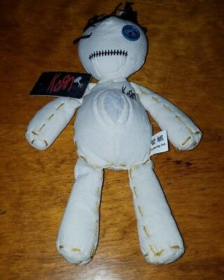 """KORN Voodoo 2000 Summer Tour 10"""" Rag Doll Limited Edition Issues Heavy Metal"""