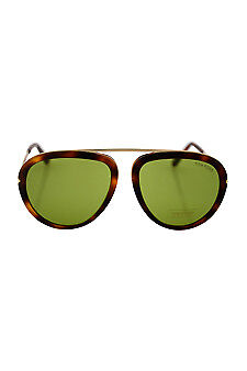 Tom Ford FT0452 Stacy 56N - Brown/Green 57-16-140 mm 57-16-140 mm Sunglasses