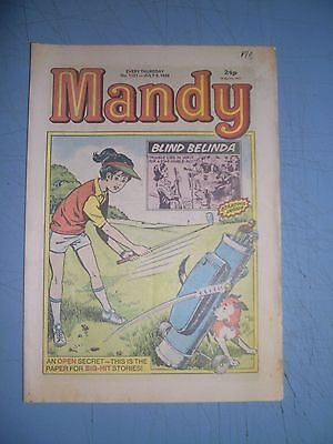 Mandy issue 1121 dated July 9 1988