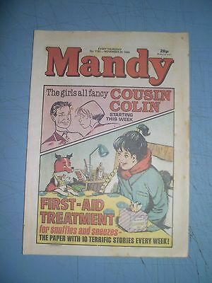 Mandy issue 1193 dated November 25 1989