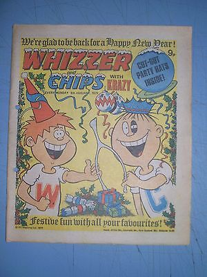 Whizzer and Chips issue dated January 6 1979