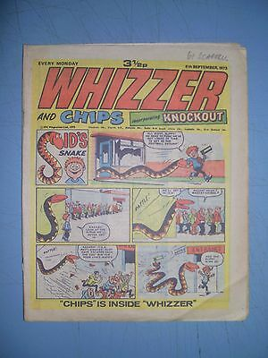 Whizzer and Chips issue dated September 8 1973